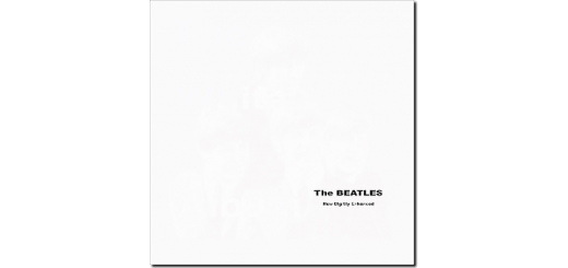 The Beatles White album cover